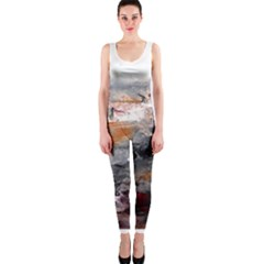 Natural Abstract Landscape OnePiece Catsuits