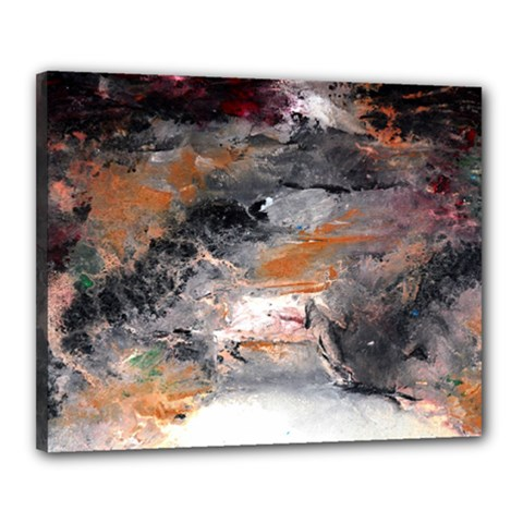 Natural Abstract Landscape No  2 Canvas 20  X 16