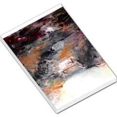 Natural Abstract Landscape No  2 Large Memo Pads
