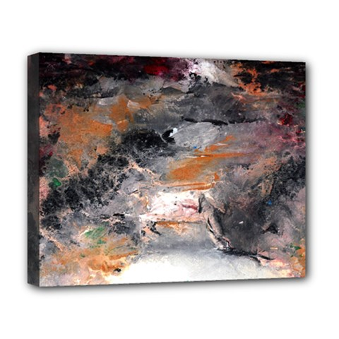 Natural Abstract Landscape No  2 Deluxe Canvas 20  X 16
