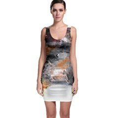 Natural Abstract Landscape No. 2 Bodycon Dresses