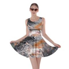 Natural Abstract Landscape No. 2 Skater Dresses