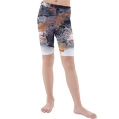 Natural Abstract Landscape No. 2 Kid s swimwear
