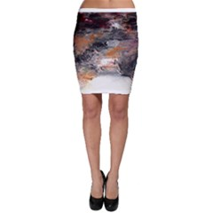 Natural Abstract Landscape No. 2 Bodycon Skirts
