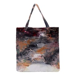 Natural Abstract Landscape No. 2 Grocery Tote Bags