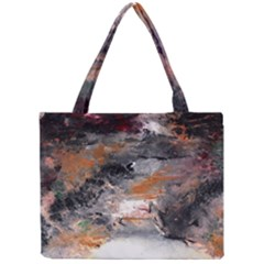 Natural Abstract Landscape No. 2 Tiny Tote Bags