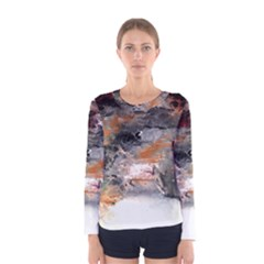 Natural Abstract Landscape No. 2 Women s Long Sleeve T-shirts