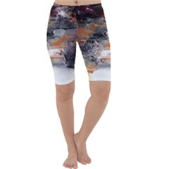 Natural Abstract Landscape No. 2 Cropped Leggings