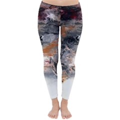 Natural Abstract Landscape No. 2 Winter Leggings