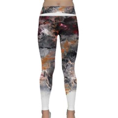 Natural Abstract Landscape No  2 Yoga Leggings