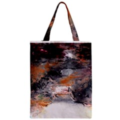 Natural Abstract Landscape No. 2 Zipper Classic Tote Bags