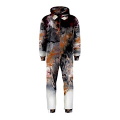 Natural Abstract Landscape No  2 Hooded Jumpsuit (kids)