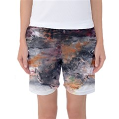 Natural Abstract Landscape No. 2 Women s Basketball Shorts