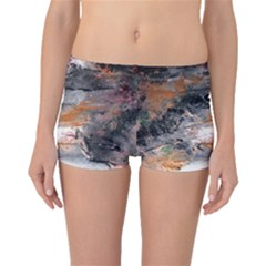 Natural Abstract Landscape No  2 Boyleg Bikini Bottoms