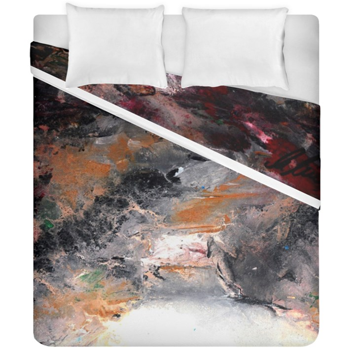 Natural Abstract Landscape No. 2 Duvet Cover (Double Size)
