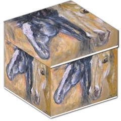 2 Horses Storage Stool 12
