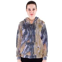 2 Horses Women s Zipper Hoodies