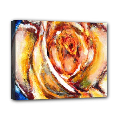 Abstract Rose Canvas 10  X 8