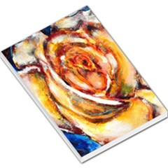Abstract Rose Large Memo Pads