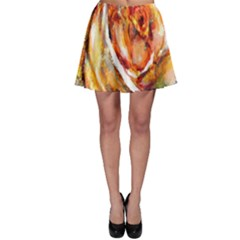 Abstract Rose Skater Skirts