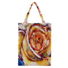 Abstract Rose Classic Tote Bags