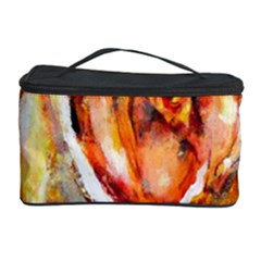 Abstract Rose Cosmetic Storage Cases