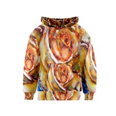 Abstract Rose Kid s Pullover Hoodies