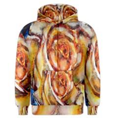 Abstract Rose Men s Zipper Hoodies
