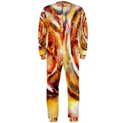 Abstract Rose OnePiece Jumpsuit (Men)
