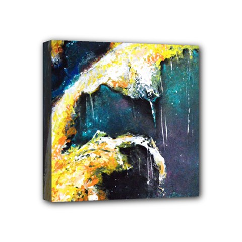 Abstract Space Nebula Mini Canvas 4  X 4