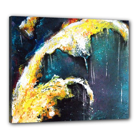 Abstract Space Nebula Canvas 24  X 20