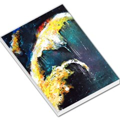 Abstract Space Nebula Large Memo Pads