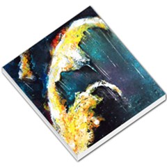 Abstract Space Nebula Small Memo Pads