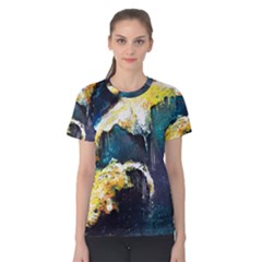 Abstract Space Nebula Women s Cotton Tees