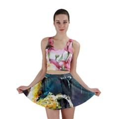 Abstract Space Nebula Mini Skirts