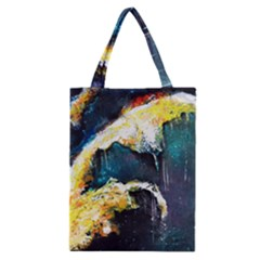 Abstract Space Nebula Classic Tote Bags