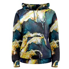 Abstract Space Nebula Women s Pullover Hoodies