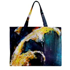 Abstract Space Nebula Zipper Tiny Tote Bags