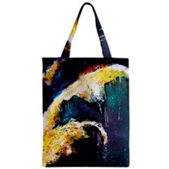 Abstract Space Nebula Zipper Classic Tote Bags
