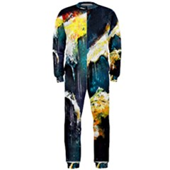 Abstract Space Nebula OnePiece Jumpsuit (Men)