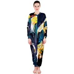 Abstract Space Nebula OnePiece Jumpsuit (Ladies)
