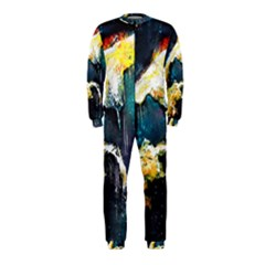 Abstract Space Nebula OnePiece Jumpsuit (Kids)