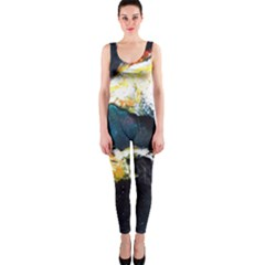 Abstract Space Nebula Onepiece Catsuits