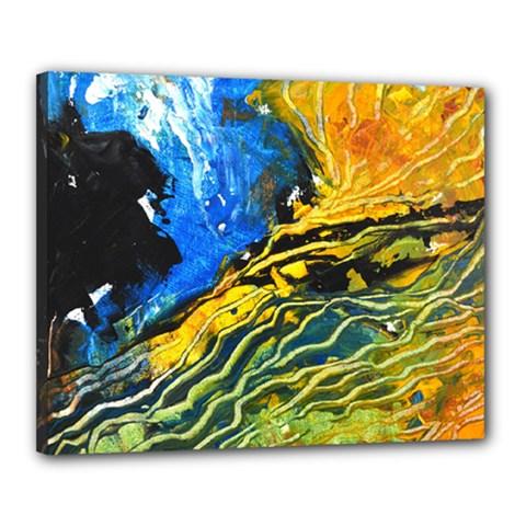 Landlines Canvas 20  X 16