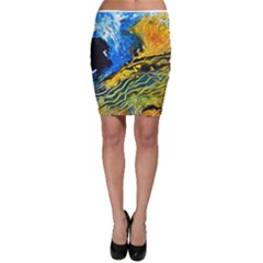 Landlines Bodycon Skirts