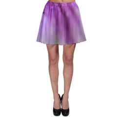Purple Flower Pedal Skater Skirts