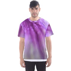 Purple Flower Pedal Men s Sport Mesh Tees