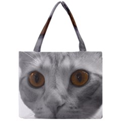 Funny Cat Tiny Tote Bags