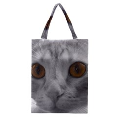Funny Cat Classic Tote Bags