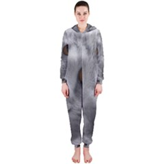 Funny Cat Hooded Jumpsuit (Ladies)